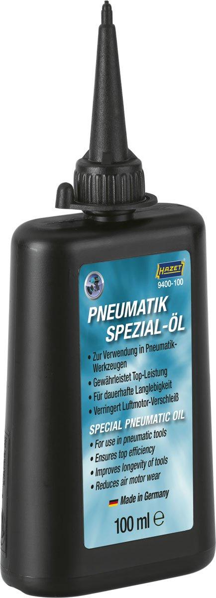 Hazet 9400 Huile de pneumatique (huile spé cial sans silicone)  , 9400-100 Hermann Zerver GmbH & Co. KG