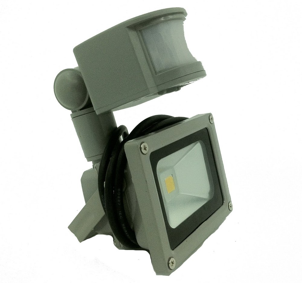 Glw 10w 12v Ac Or Dc 700lm Led Motion Sensor Flood Light