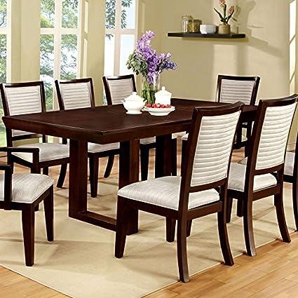Amazon.com - 247SHOPATHOME IDF-3751T-7PC Dining-Room, 7-Piece Set ...