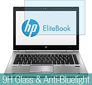 "Synvy Anti Blue Light Tempered Glass Screen Protector for HP EliteBook 8570p 15.6"" Visible Area 9H Protective Screen Film Protectors"
