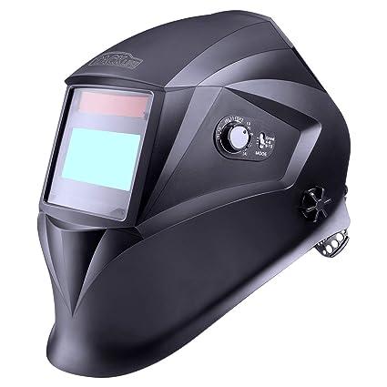 Sudor Casco, tacklife pah01d Casco de soldar automático con 4 sensores, óptico Clase: