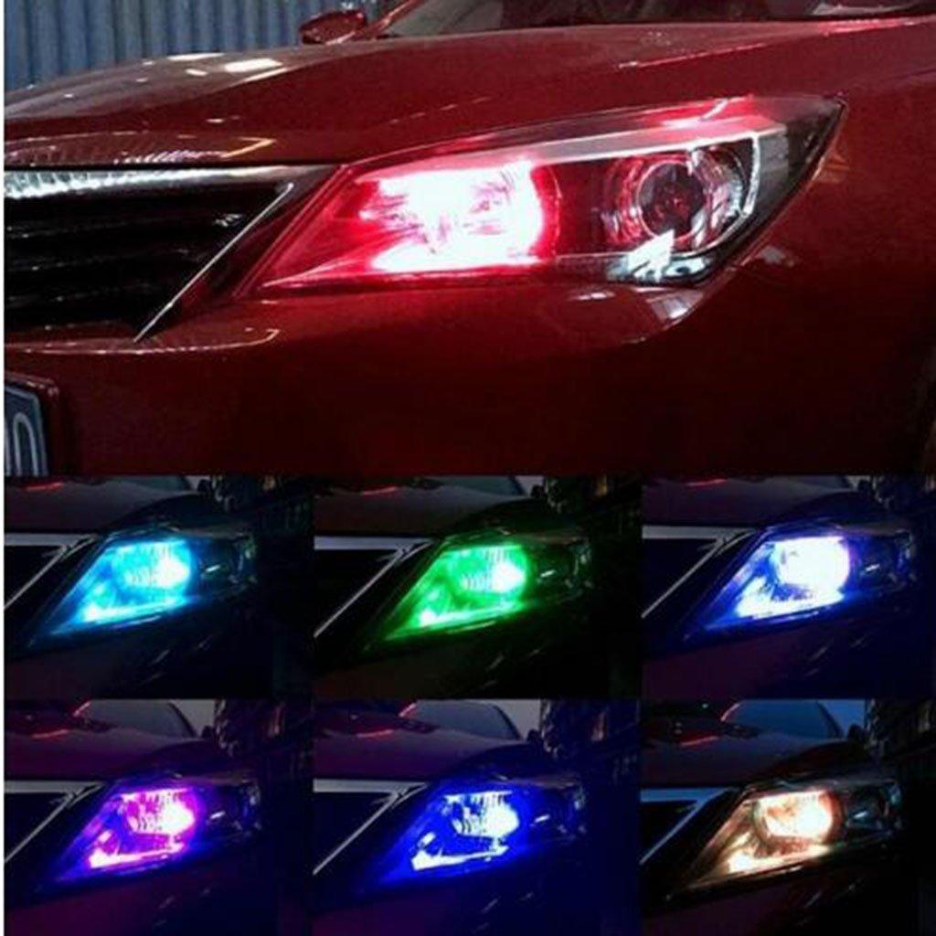 Sharplace 2 Pcs T10 5050 6 LED Lampadina Luce Interno Cruscotto Indicatore Console Auto Bianca