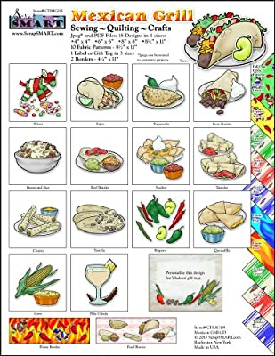 ScrapSMART - Mexican Grill - Software Collection - Jpeg & PDF files for Mac [Download]