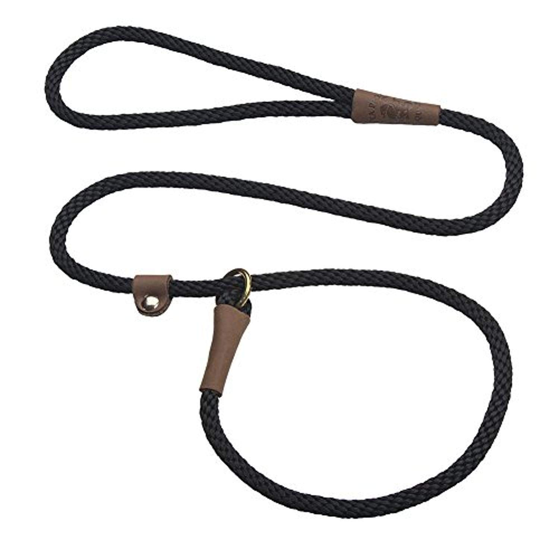 Mendota Pet Slip Leash - Dog Lead and Collar Combo - Made in The USA