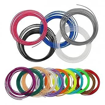 amazon com pla 3d pen filament refills 1 75mm 3d