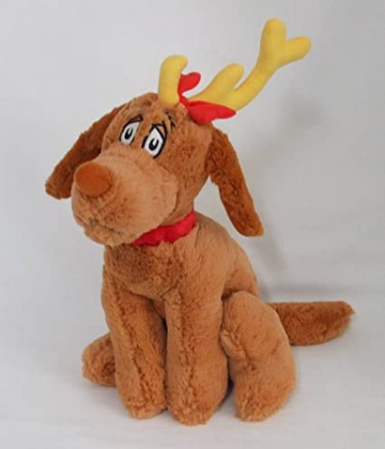 dr seuss how the grinch stole christmas max reindeer plush