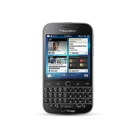 Amazon blackberry classic black 16gb verizon wireless cell blackberry classic black 16gb verizon wireless reheart Choice Image
