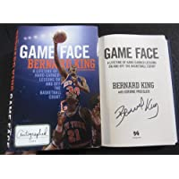 $64 Get Bernard King signed Book Game Face: A Lifetime of Hard-Earned Lessons On and Off the Basketball Court 1st Print