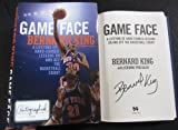 Bernard King signed Book Game Face: A Lifetime of
