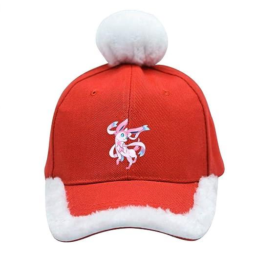 Christmas Eevee.Eevee Festive Christmas Baseball Cap Santa Xmas Trucker Hat