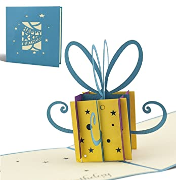 Geburtstag Karte.3d Pop Up Karte Zum Geburtstag Geburtstagskarte Gluckwunschkarte Gutschein Gluckwunsch Karte Grusskarten Geschenkkarte 3d G02
