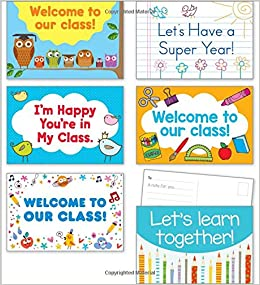 Back-to-School Postcards: Scholastic: 9781338105148: Amazon