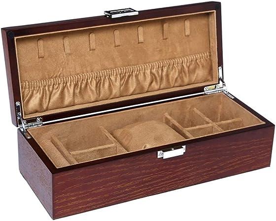 MMMP Madera Estuche De Cosméticos, Cajas De Regalo, Organizador Caja De Alta Capacidad, Retro, Boda Regalo De Cumpleaños, Los Mejores Regalos For Las Mujeres, 30x12x8.5cm, 1.64kg: Amazon.es: Hogar