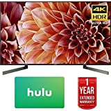 Sony XBR55X900F 55-Inch 4K Ultra HD Smart LED TV (2018 Model) w/Hulu $50 Gift Card + 1 Year Extended Warranty