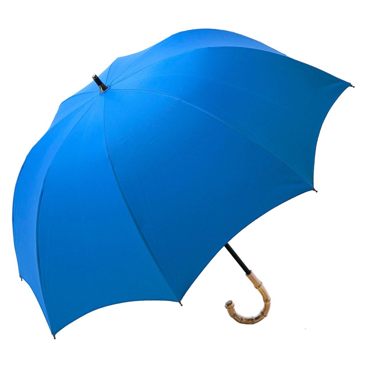 【Rose Blanc】100%完全遮光 日傘 プレーン ショートサイズ 50cm (スウィートブルー) B01ER2859E スウィートブルー スウィートブルー