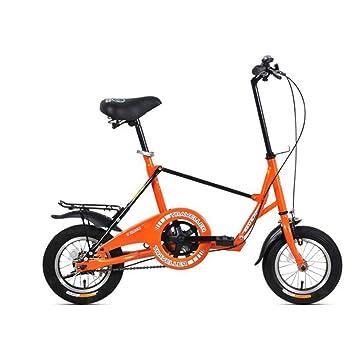 XQ F515 12 Pulgadas Bicicleta Plegable de Adultos de una Sola Velocidad Que amortigua el Coche