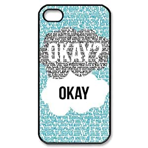 The Fault In Our Stars New Fashion DIY Phone Case for Iphone 4,4S,customized cover case ygtg-318307
