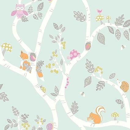 Holden Decor Make Believe Woodland Adventure Wallpaper 12490 Kids Childrens