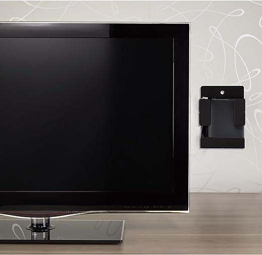 Hama - Soporte VESA (Cable, Discos Duros externos en la Pared Trasera de la TV o la Cara para Accesorios de TV como mandos a Distancia, Color Negro: Amazon.es: Electrónica