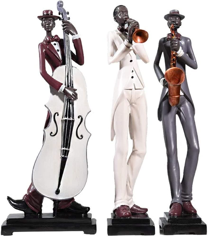 Museum Quality Extra Large Male Fiddler Home Office Decoration Decor Figurine