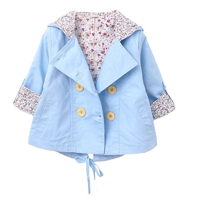 287284c7e6a0 Amazon.com  Dr.mama Kids Girls Cotton Spring Autumn Hooded Jacket ...