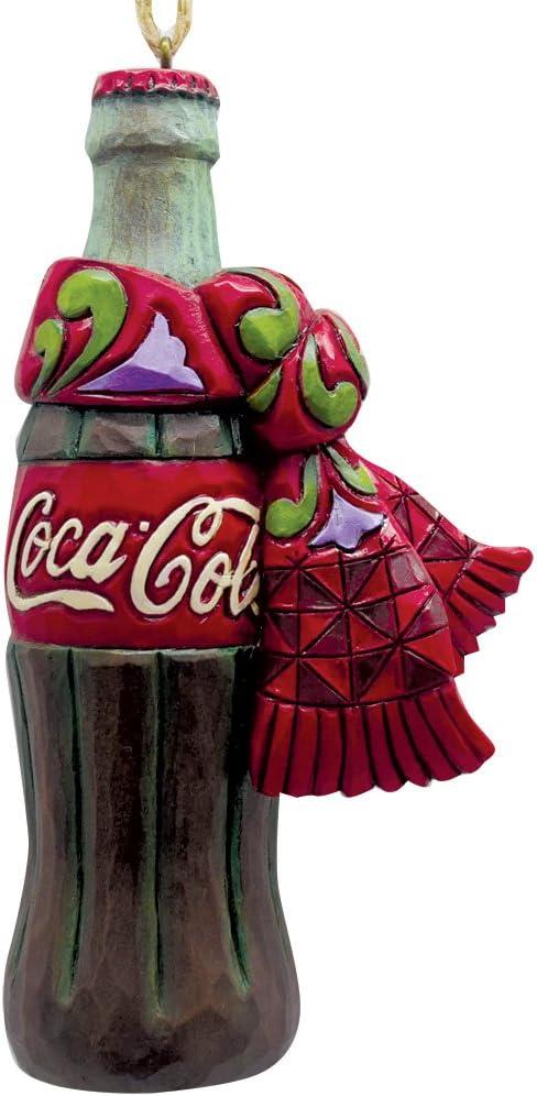 Coca-Cola Retro Wooden Bottle Cap Hanging Christmas Ornament Real Coke Product