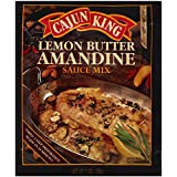 Cajun King Lemon Butter Amandine Mix 1.0 OZ (Pack of 3)