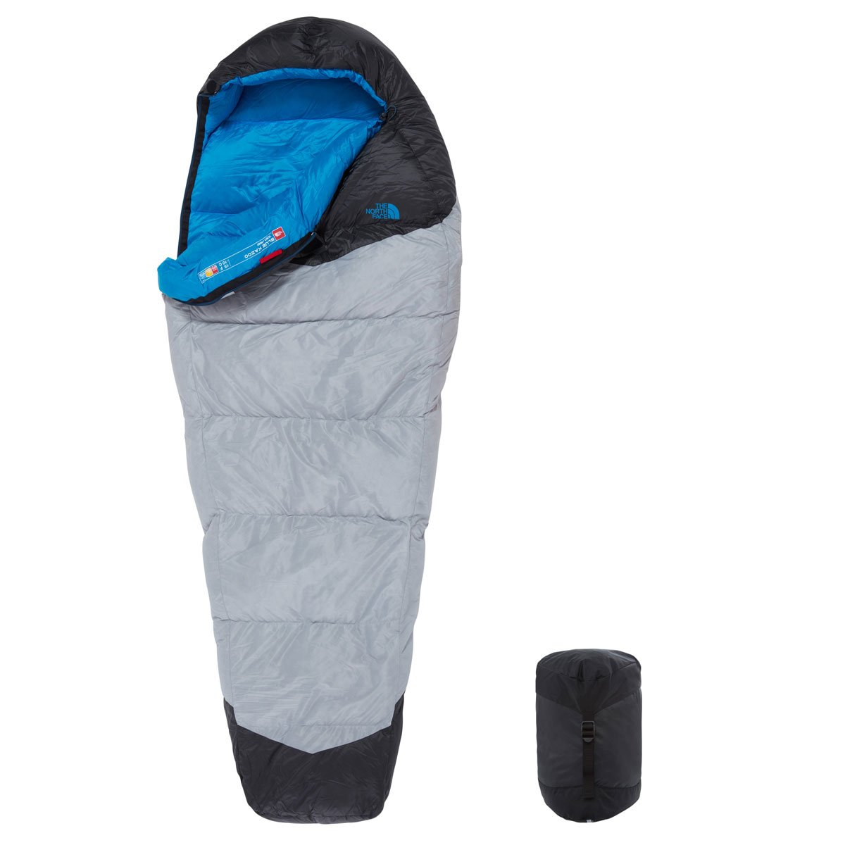 The North Face Blue Kazoo Saco de Dormir, Mujer: Amazon.es: Deportes y aire libre