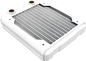 Black Ice Nemesis 120GTS Ultra Stealth U-Flow Low Profile Radiator - White