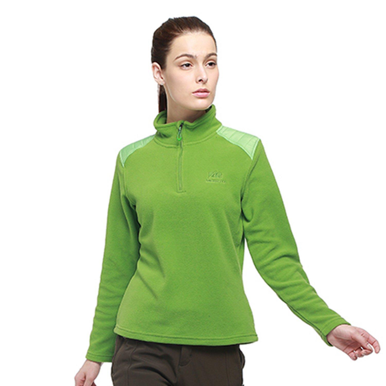 MERRTO Women's Outdoor Winter Athletic Thermal Windproof Fleece Coat