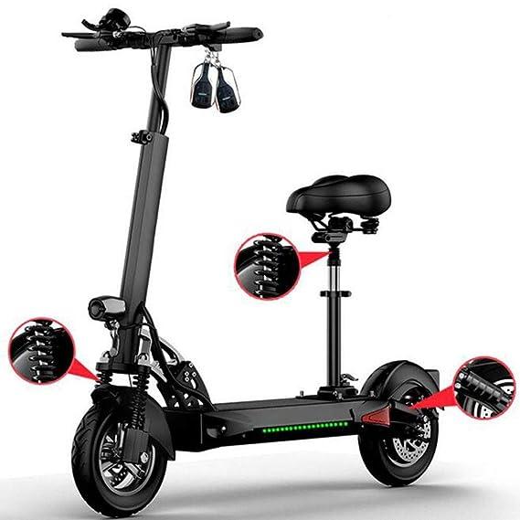 YIWANGO Scooter Electrico Adulto Pantalla LED Multifunción ...