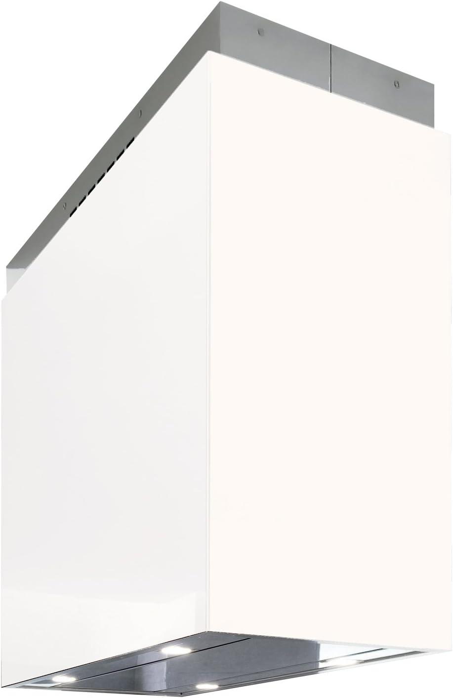 frecan – Campana Isla Vetro T – blanco 90 cm: Amazon.es: Grandes electrodomésticos