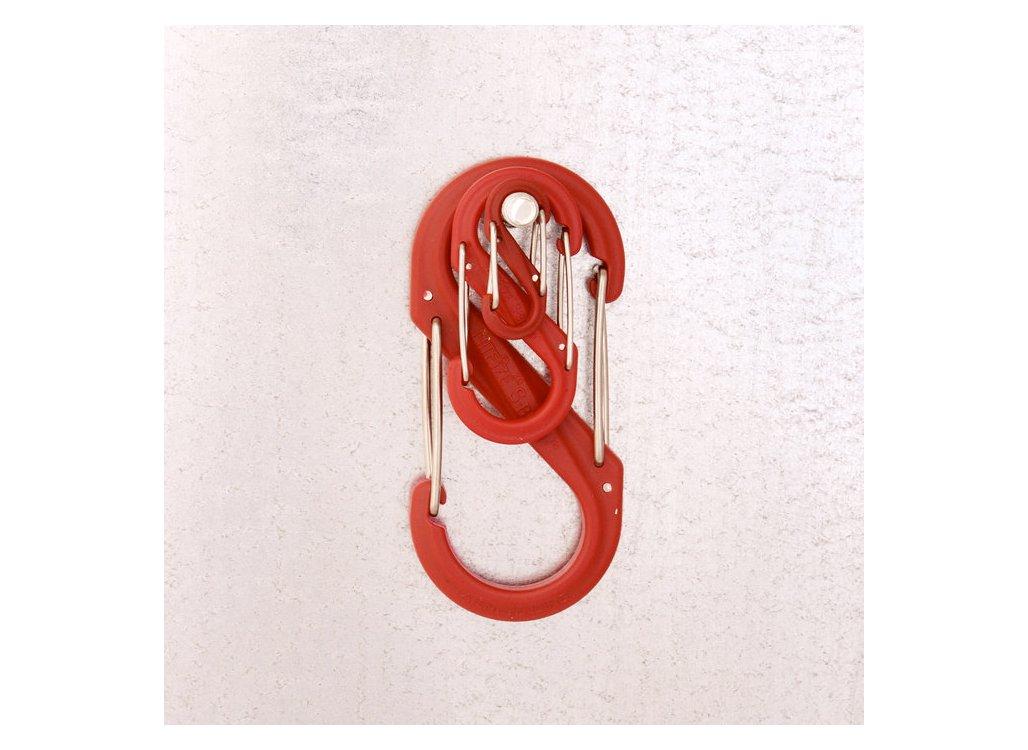 Nite Ize SBP8-03-01BG Plastic S-Biner Black//Black Gates