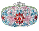 Luxury Crystal Clutch for Women Rhinestone Evening Bag