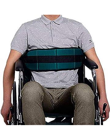 HNYG B772 - Cinturón de seguridad para silla de ruedas (ajustable), color azul