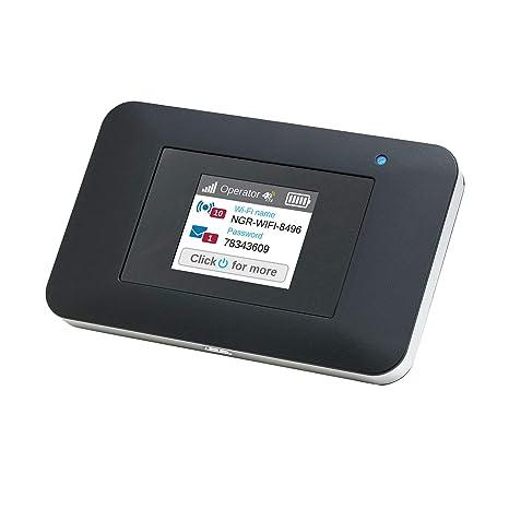 NETGEAR AirCard - Router 4G LTE móvil AC797 hasta 400 Mbps de velocidad de descarga , Conecta hasta 15 dispositivos WiFi , Crea tu red inalámbrica ...
