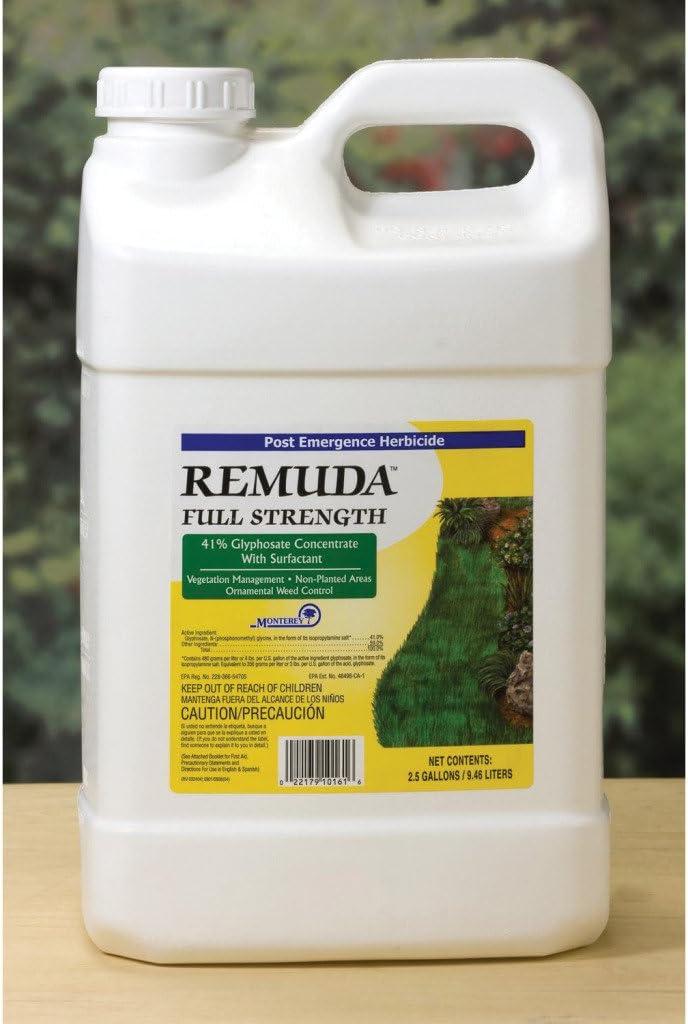 Amazon Com Lawn Garden Products Inc Monterey 2 5gal Remuda 41 Glyphosate Fertilizers Garden Outdoor