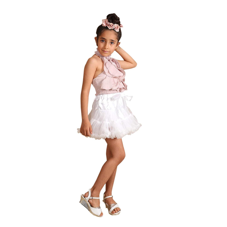 Matissa Bambini Ragazze Ballerina Strati Sottoveste Balletto Tutu soffice Gonna Fancy Dress Dance Party