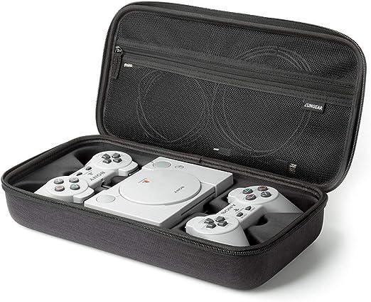 LUNGEAR Funda de Transporte para Playstation Classic Mini,Estuche Portátil de Viaje para PS Mini Consola,Mandos y Accesorios: Amazon.es: Electrónica