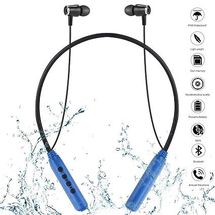 Bluetooth Auriculares deportivos a prueba de agua, Natación Buceo ...
