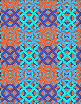 """Descargar Epub Cornell Notes Notebook: Abstract X/orange Blue 