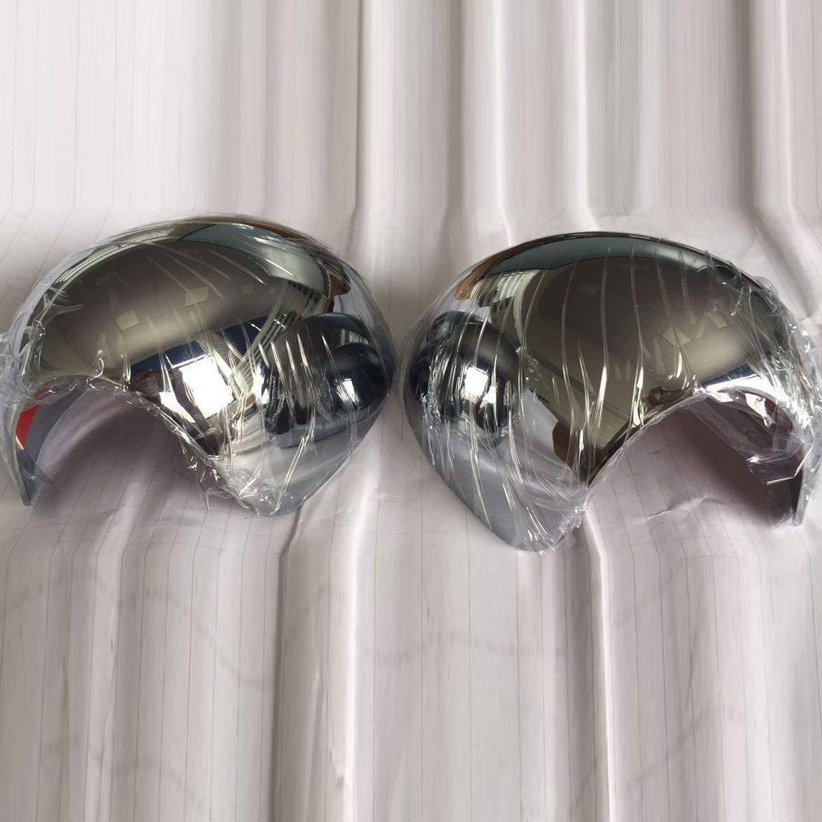 Copertura posteriore dello specchietto retrovisore Kongqiabona 2 pezzi Copertura laterale dello specchietto retrovisore della portiera per BMW Mini Cooper F55 F56 F54 F60