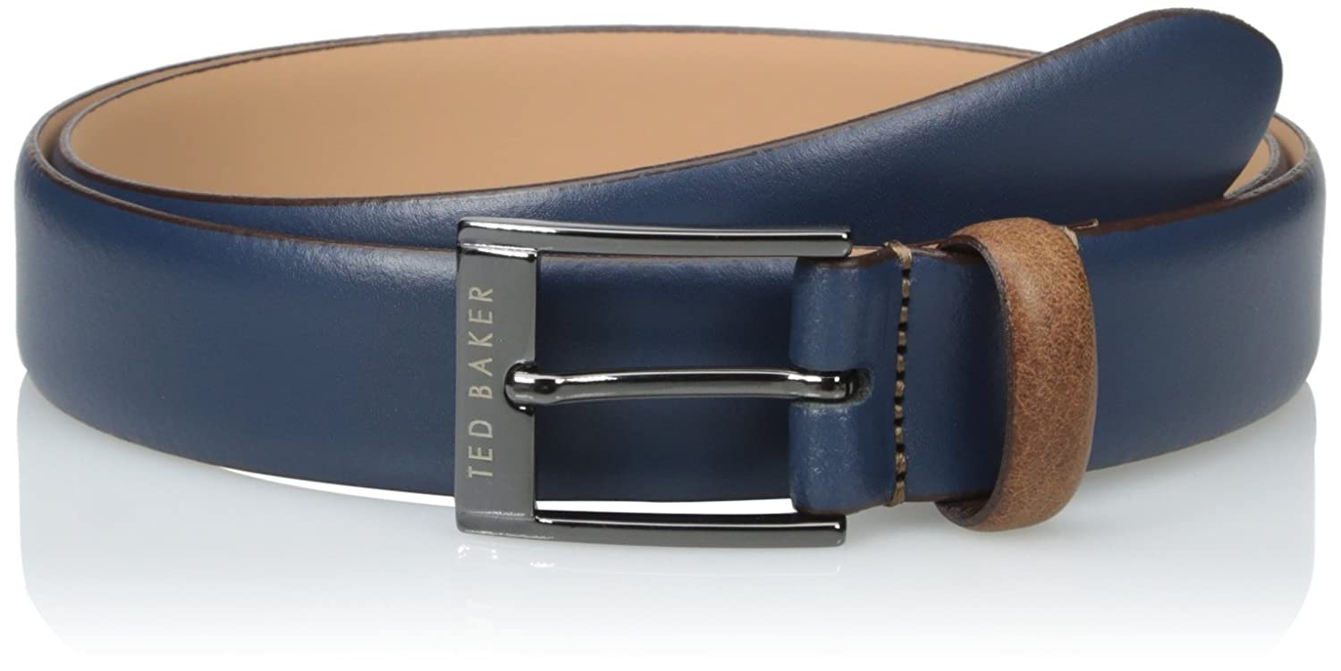 6cd24917868b Amazon.com  Ted Baker Men s Colored Leather Belt  Clothing