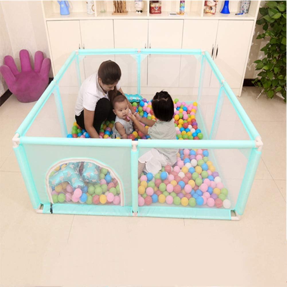 Baby-Laufstall Baby Spielzeug Kinder Kinder Laufgitter Zelt zum Spielen drinnen oder drau/ßen B/ällebad sicher Krabbeln 120x120cm 150x150cm YIKEY