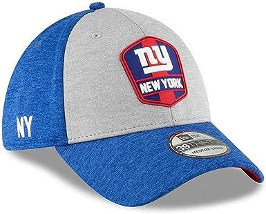 NFL Black Sideline New York Giants New Era 39Thirty Cap