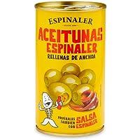 Espinaler - Aceitunas Verdes Rellenas De Anchoa, 350