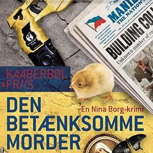 Den betænksomme morder [The Thoughful Killer] Audiobook