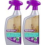Rejuvenate Scrub Free Soap Scum Remover Shower Glass Door Cleaner Works on Ceramic Tile, Chrome, Plastic and More (2 Bottles