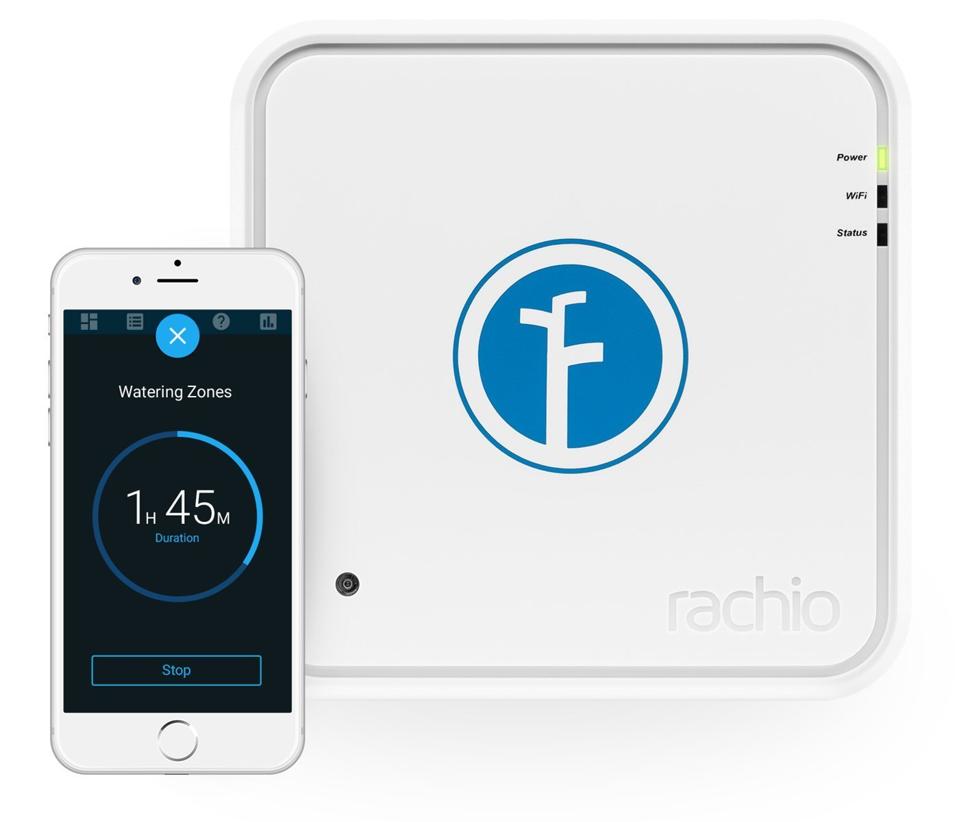 Rachio Smart Sprinkler Controller, 16 Zone 1st Generation, Works with Alexa by Rachio
