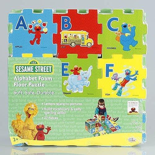 Alphabet Foam Puzzles (Sesame Street Alphabet Foam Floor)
